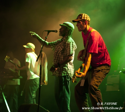 The Mighty Diamonds (Skatalites + Linval Thompson + Mighty Diamonds)