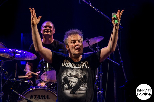 Jello Biafra + Mexican Morrissey à la Rock School Barbey